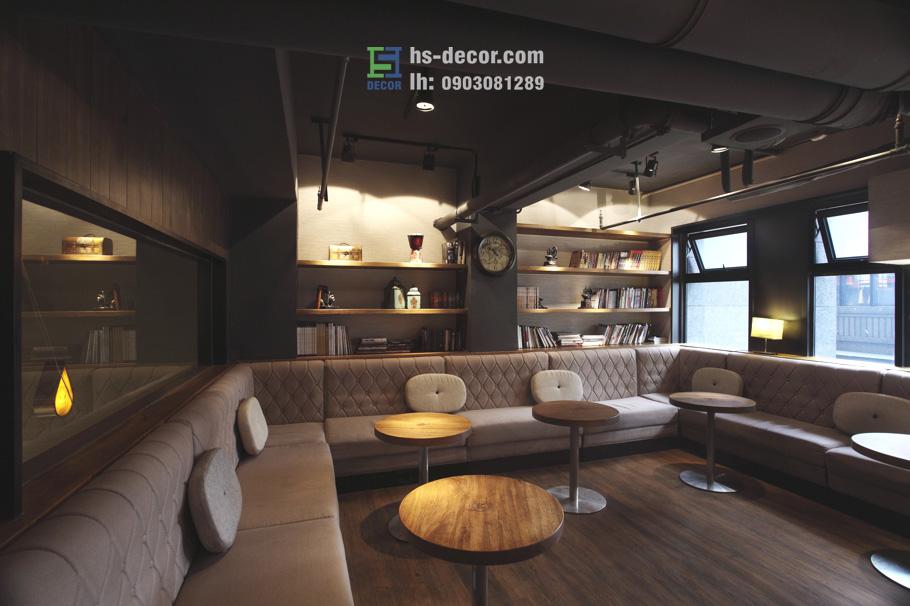 thiết kế quán coffee