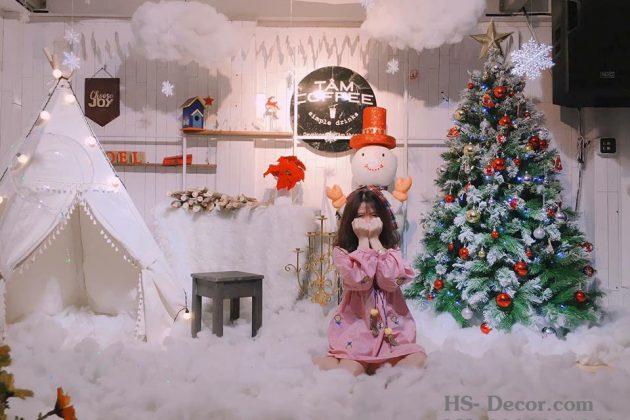 Cafe mùa Noel