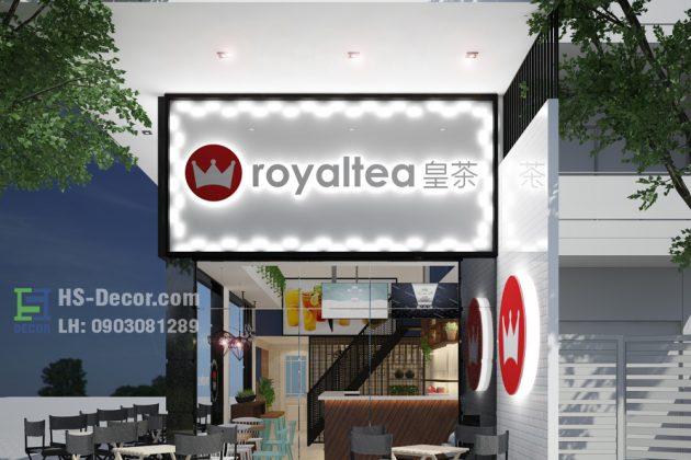 Royaltea đường Tên Lửa