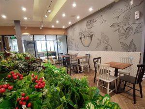Thiết kế quán Gong Cha